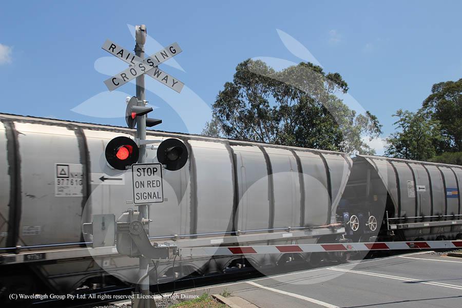 Kelly Street rail crossing, Scone.