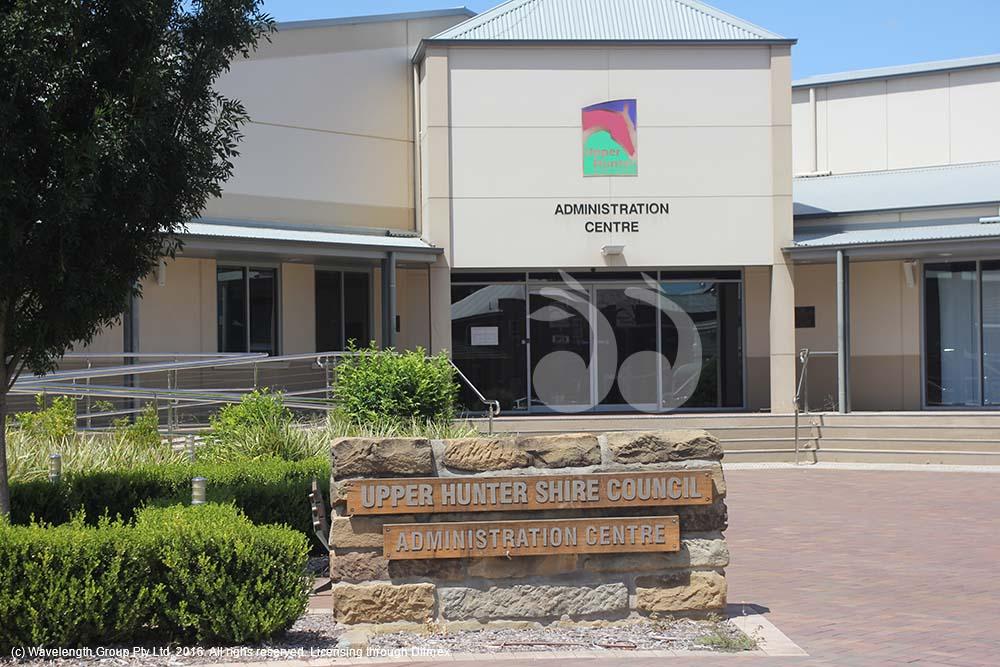 Upper Hunter Shire Council building in Scone