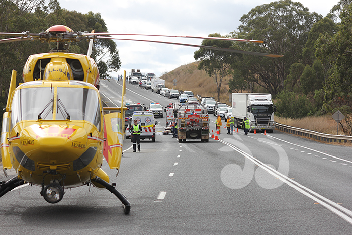The scene of the accident at Wingen.