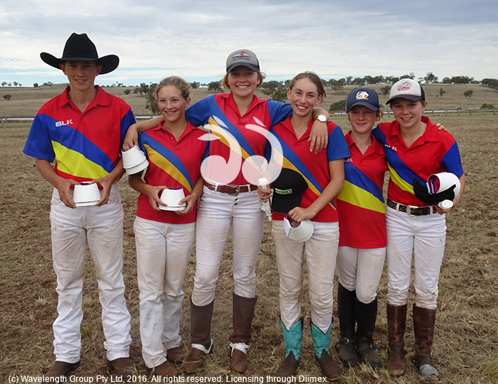Clancy Martin, Nicole Matin, Leah Wilson, April Lawler, Abbey Cross and Jilly Rose.