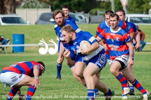 Josh Whale playing for Reserve Grade
