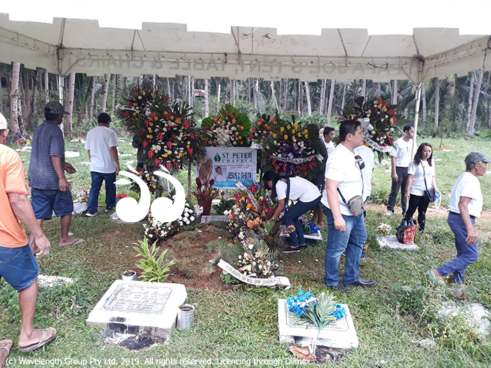 Jesus C. Bebita was laid to rest last week in the Philippines.